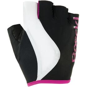 Roeckl Delia Handschuhe Damen schwarz/pink